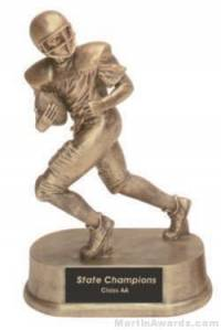 Football Gold Resin Trophy