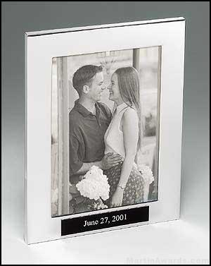 Picture Frame Award - Polished Silver Aluminum Picture Frame