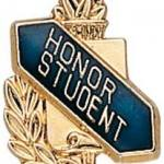 3/8″ Honor Student School Award Pins 1