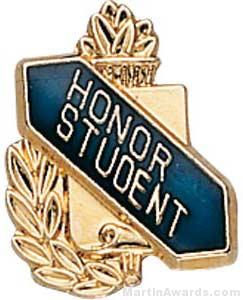 "3/8"" Honor Student School Award Pins"