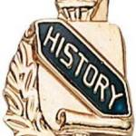 3/8″ History School Award Pins 1