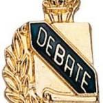 3/8″ Debate School Award Pins 1