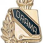 3/8″ Drama School Award Pins 1