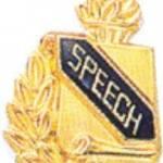 3/8″ Speech Academic Award Pins 1