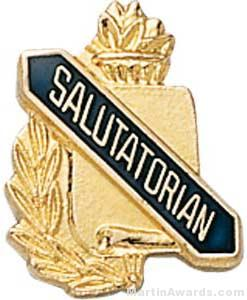 3/8″ Salutatorian School Pins 1
