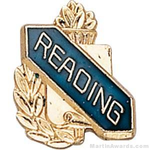 "3/8"" Reading School Award Pins"