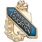 "3/8"" Physical Education School Award Pins"