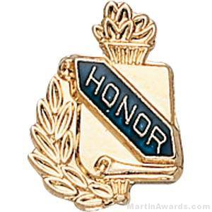 "3/8"" Honor School Award Pins"