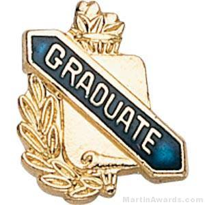 "3/8"" Graduate School Award Pins"