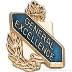 3/8″ General Excellence School Award Pins 1