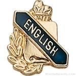 3/8″ English School Award Pins 1