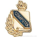 "3/8"" Compute School Award Pins"