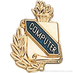 3/8″ Compute School Award Pins 1
