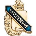 3/8″ Citizenship School Award Pins 1