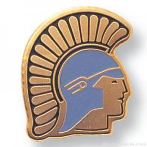 Trojan Mascot Lapel Pin