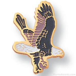 Falcon Mascot Lapel Pin