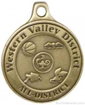 "2"" Custom Medals"