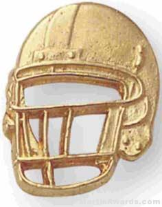 Football Helmet Pin 1