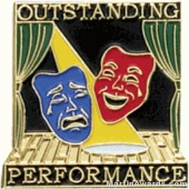 Outstanding Performance Award Lapel Pin