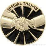 Special Thanks Award Lapel Pin 1