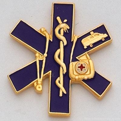 Paramedic Lapel Pin