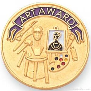 Art Award Lapel Pin
