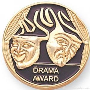 Drama Award Lapel Pin