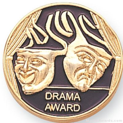 7/8″ Drama Award Lapel Pin 1