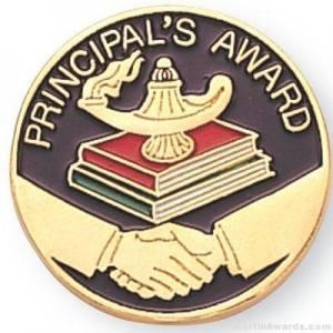 Principal's Award Lapel Pin