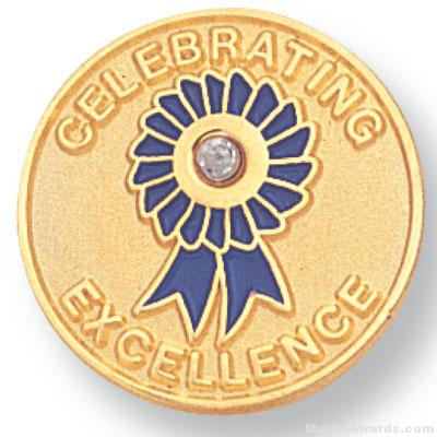 Celebrating Excellence Lapel Pin