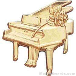 "3/4"" Piano Lapel Pin"