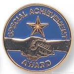 "3/4"" Special Achievement Lapel Pin"