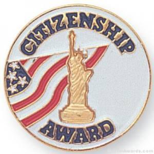 Citizenship Award Lapel Pin