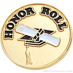 Honor Roll Enamel Lapel Pins