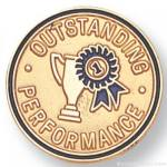 "3/4"" Outstanding Performance Lapel Pin"