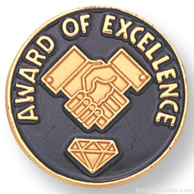 Award Of Excellence Lapel Pin