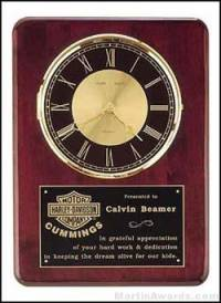 Washington Cherry Clock Plaque