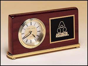 Rosewood Desk Clock