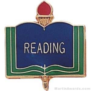 """3/4"""" Reading School Award Pins"""