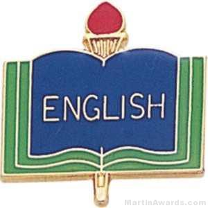 3/4″ English School Award Pins 1