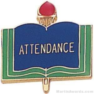 """3/4"""" Attendance School Award Pins"""