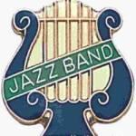 5/8″ Enameled Jazz Music Pin 1