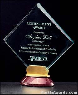 Bella Diamond Series Acrylic Award