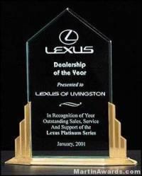 Apex Peak Acrylic Award