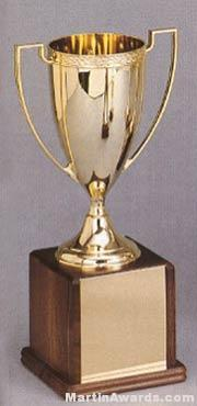 Martin Classic Gold Plated Trophy Cups