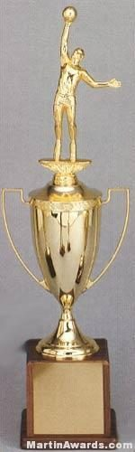 Gold Plated Cup - Men's and Women's Sports Trophies