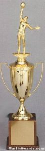 Gold Plated Cup – Men's and Women's Sports Trophies 1